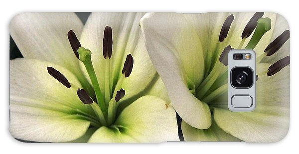 Oriental Lily Named Endless Love Galaxy Case