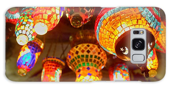 Galaxy Case - Oriental Traditional Lamps And Lanterns In The Grand Bazar Kapal by Iordanis Pallikaras
