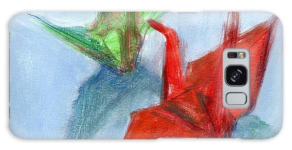 Origami Cranes Galaxy Case