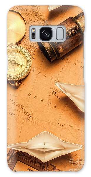 Navigation Galaxy Case - Origami Paper Boats On A Voyage Of Exploration by Jorgo Photography - Wall Art Gallery