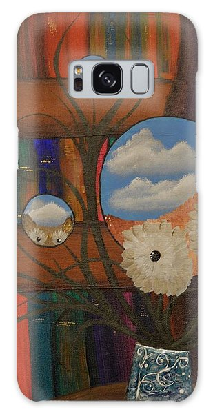 Original Artwork By Mimi Stirn - Hoomasters Collection - Hoo Magritte #411 Galaxy Case