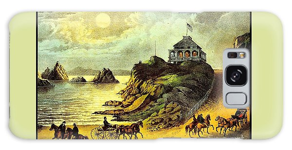 Original San Francisco Cliff House Circa 1865 Galaxy Case