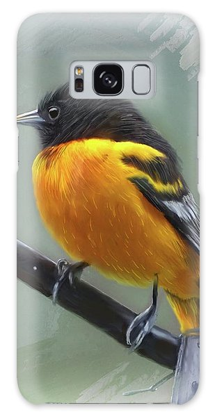 Song Birds Galaxy Case -  Oriole by Mary Timman