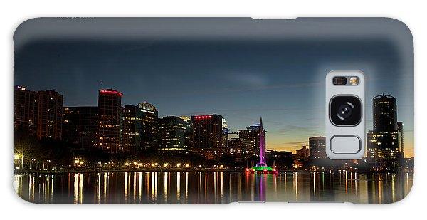 Orlando Beautiful Lake Eola Sunset Galaxy Case