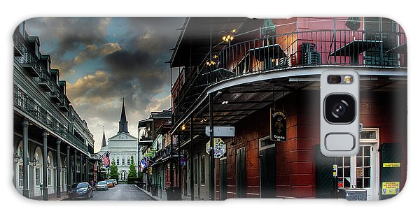 Orleans Street To St Louis Cathedral Galaxy Case