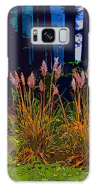 Ornamental Grasses Galaxy Case