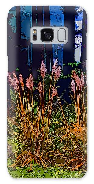 Ornamental Grasses Galaxy Case by Anne Havard