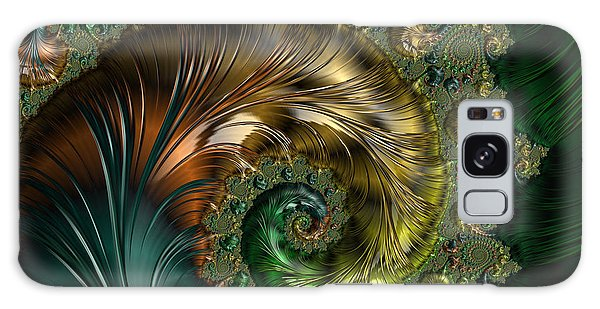 Ornamental Shell Abstract Galaxy Case