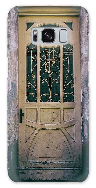 Ornamented Doors In Light Brown Color Galaxy Case by Jaroslaw Blaminsky