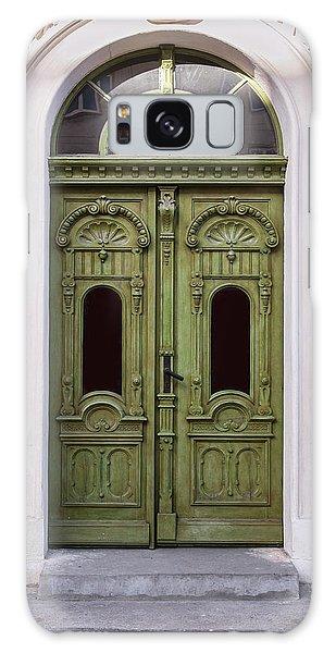 Ornamented Gates In Olive Colors Galaxy Case by Jaroslaw Blaminsky