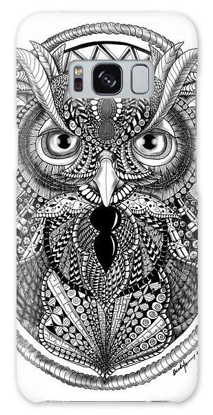 Ornate Owl Galaxy Case