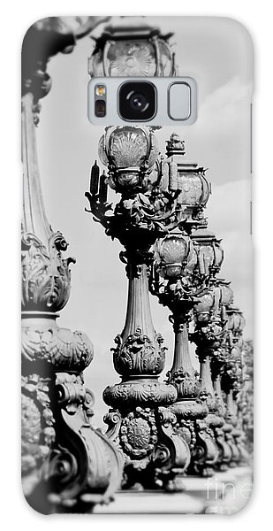 Ornate Paris Street Lamp Galaxy Case