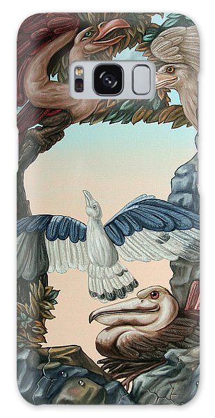 Ornithological Symphony By Ludwig Van Beethove Galaxy Case