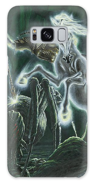 Galaxy Case featuring the painting Orome Hunts The Creatures Of Morgoth by Kip Rasmussen