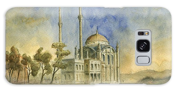Turkey Galaxy Case - Ortakoy Mosque Istanbul by Juan Bosco