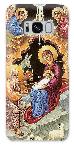 Orthodox Nativity Scene Galaxy Case