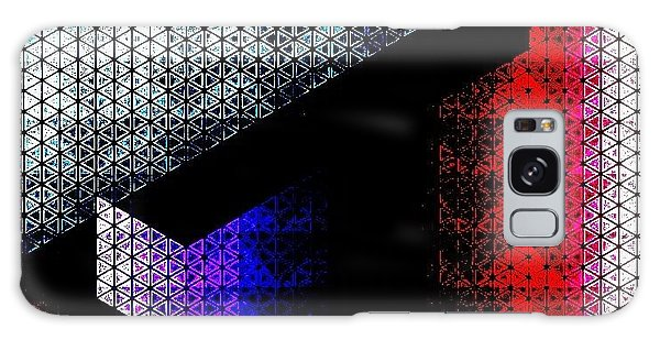 Galaxy Case - Orthogon Disco by Lisa Marie Towne
