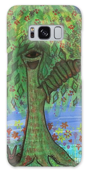 Osain Tree Galaxy Case