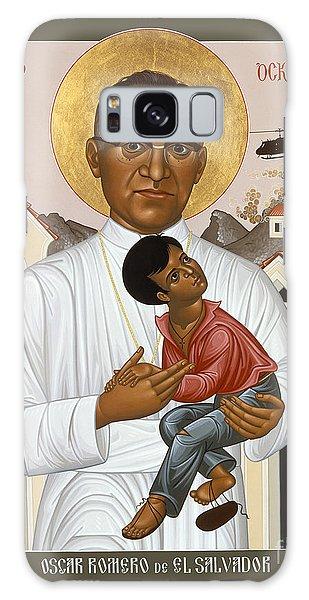 St. Oscar Romero Of El Salvado - Rlosr Galaxy Case