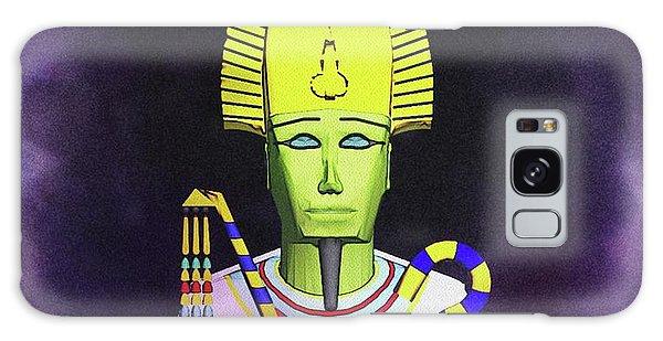 Anubis Galaxy Case - Osiris - God Of Egypt by Raphael Terra