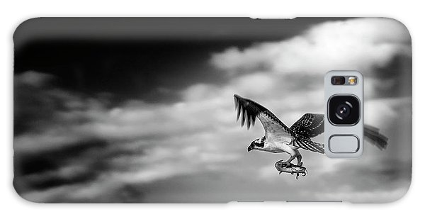 Osprey Catch Of The Day Galaxy Case by Chrystal Mimbs