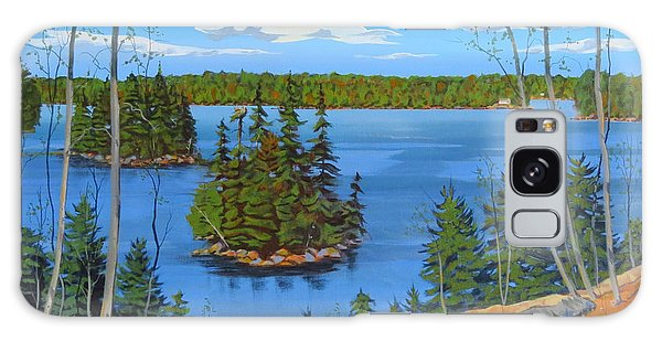 Galaxy Case featuring the painting Osprey Island by David Gilmore