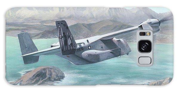 Osprey Over The Mokes Galaxy Case
