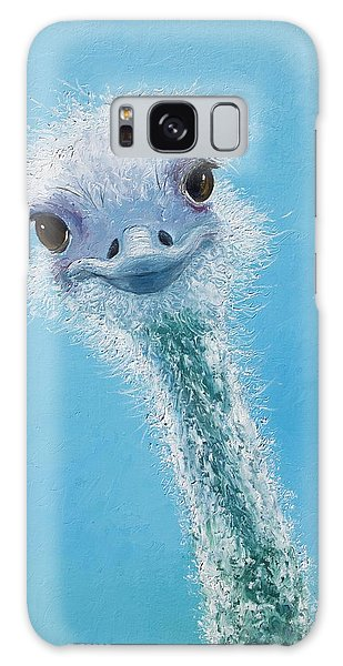 Ostrich Painting Galaxy Case