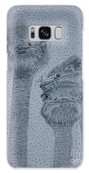 Ostrich Umbrella Galaxy Case