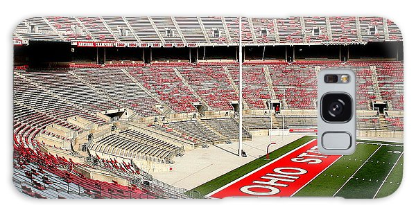 Osu Football Stadium Galaxy Case by Laurel Talabere