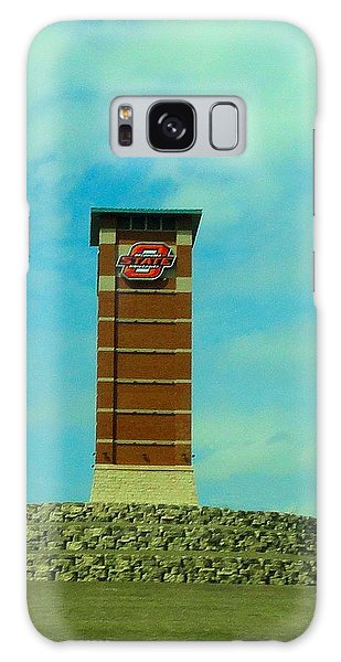 Oklahoma State University Gateway To Osu Tulsa Campus Galaxy Case