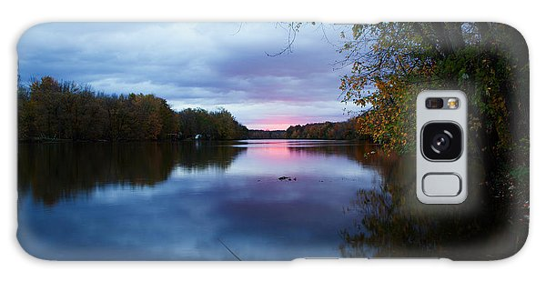 Oswego River Galaxy Case by Everet Regal