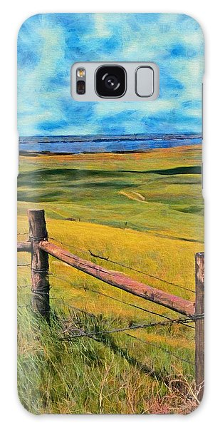 Other Side Of The Fence Galaxy Case by Jeff Kolker