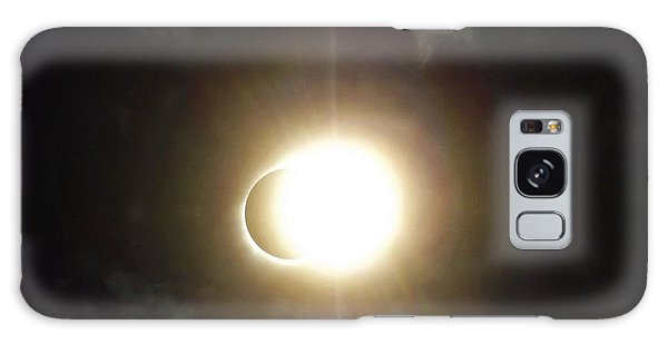 Otherworldly Eclipse-leaving Totality Galaxy Case