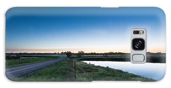 Otoe Plains Sunset Galaxy Case