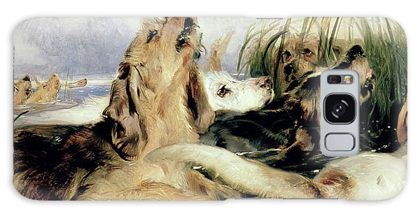 Whining Galaxy Case - Otter Hounds by Sir Edwin Landseer