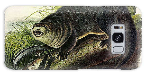 River Otter Galaxy Case - Otter by John James Audubon