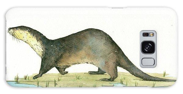 Otter Galaxy Case - Otter by Juan Bosco