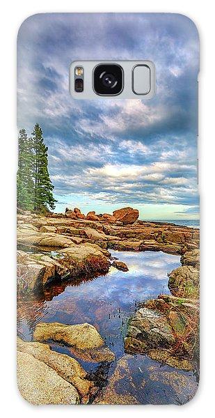 Otter Rock Galaxy Case - Otter Point Reflections by Rick Berk