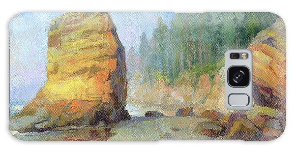 Otter Galaxy Case - Otter Rock Beach by Steve Henderson