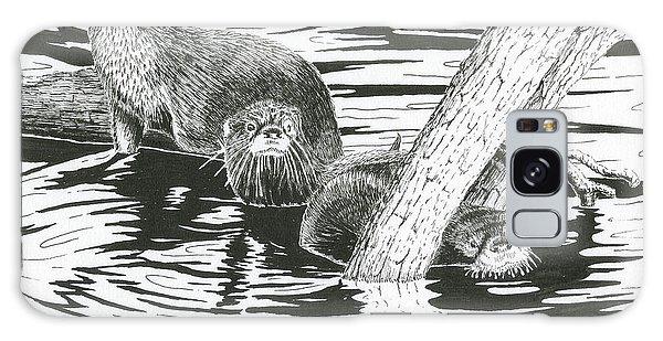 Otters Three Galaxy Case