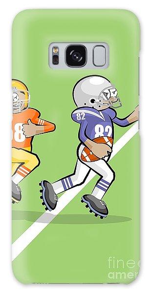 Our American Football Star Runs Fast Galaxy Case