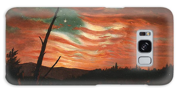 The Sky Galaxy Case - Our Banner In The Sky by Frederic Edwin Church