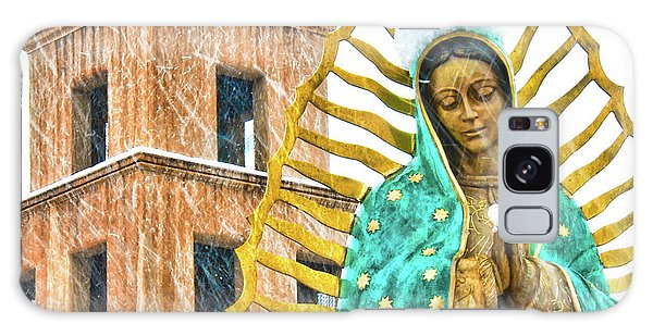 Our Lady Of Guadalupe Galaxy Case