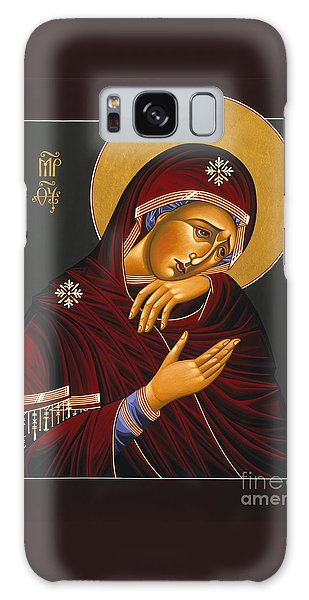 Our Lady Of Sorrows 028 Galaxy Case