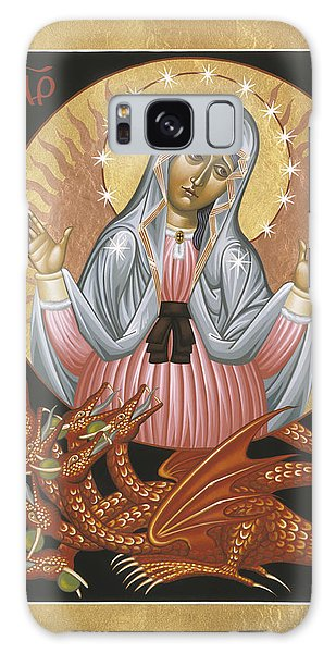 Our Lady Of The Apocalypse 011 Galaxy Case