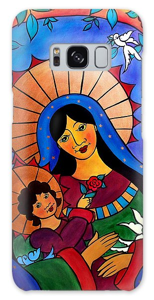 Our Lady Of The Garden Galaxy Case