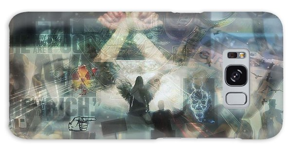 Our Monetary System  Galaxy Case by Eskemida Pictures