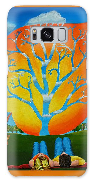 Our Seasons Winds Galaxy Case