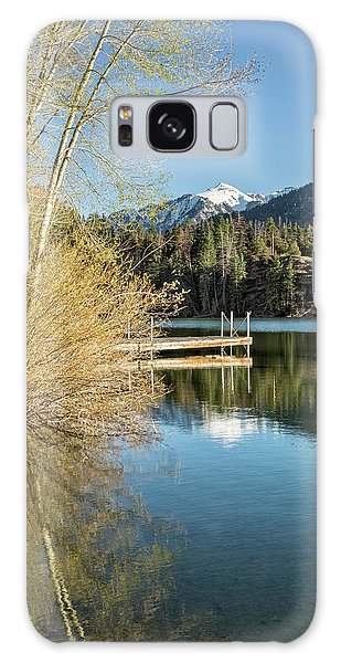 Ouray County Postcard Scene Galaxy Case